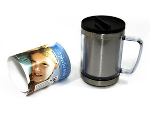 Creat-Your-Own-Photo-Custom-6x4-Gift-Travel-Flask-Cup-Thermal-Mug-Coffee-Tea