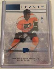 2014/15 Artifacts Sapphire  WAYNE SIMMONDS Flyers  55/85