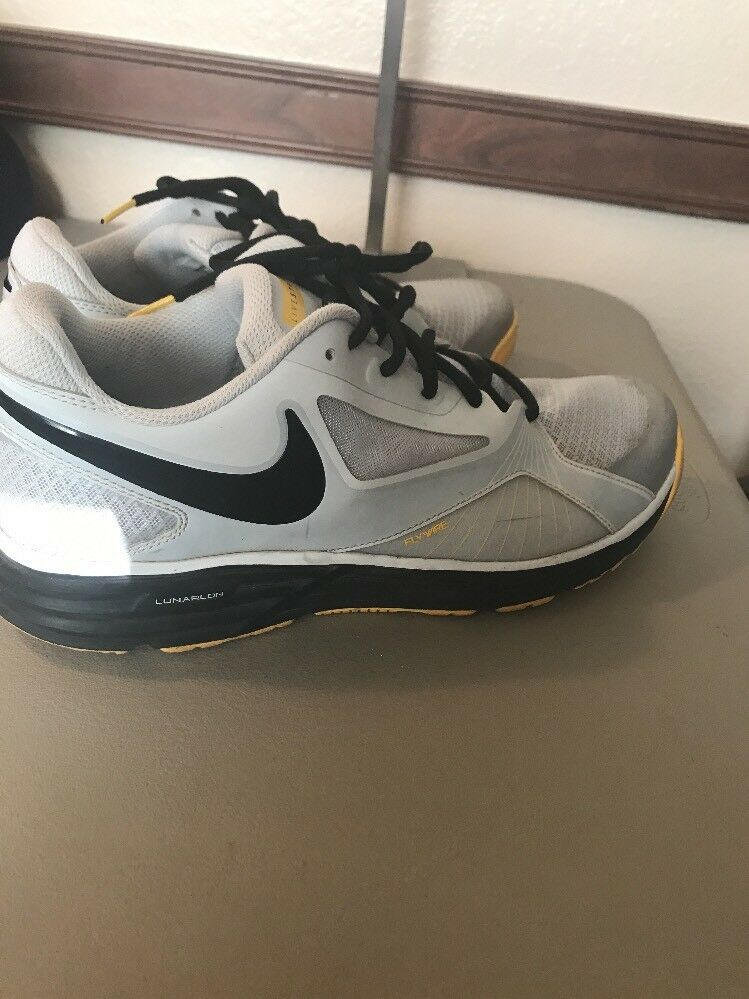 brand new f398b 56ff1 NIKE Lunar Edge 15 SZ 10.5 RUNNING SHOE 2013 FLYWIRE Livestrong  (616093-007) odxglk5801-Athletic Shoes