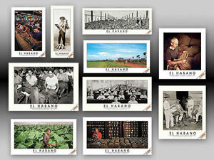 """RARE LIMITED EDITION   CIGAR MAKERS (10) POSTER SET """"GREAT GIFT IDEA"""""""