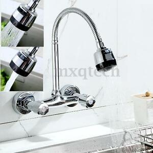 wall mount kitchen faucet with spray wall mount chrome brass pull kitchen sink spray 27606