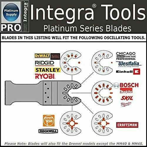 PACK OF 24 INTEGRA Tools OSCILLATING SAW BLADE ACCESSORIES KIT MULTITOOL
