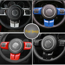 3steering Wheel Cover Trim For Jeep Wrangler Patriot Compass Grand Cherokee 11 Fits 2012 Jeep Patriot