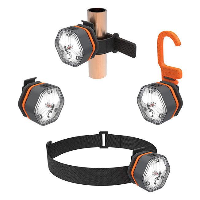 Liggoo Outdoor Kit , LED modular lamps, Bike light, Rechargeable
