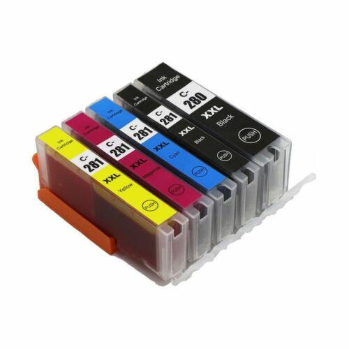 PGI-280 XXL CLI-281XXL Ink Cartridge For Canon Pixma TS8120 TS9120 TS9520 TS6220