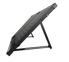HQST 100W 12V Poly Foldable Solar Suitcase w/ Controller Portable Solar