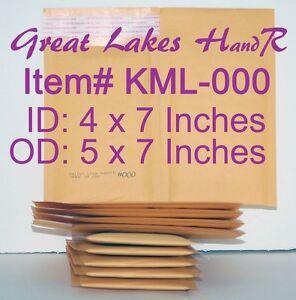 104-KML-000-Self-Sealing-Kraft-Bubble-Cushioned-Envelope-Mailers-OD-5-x-7