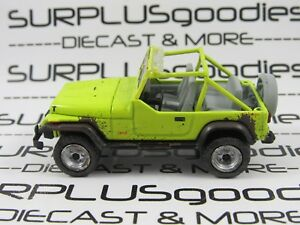 Greenlight-1-64-Scale-LOOSE-Collectible-Muddy-1991-JEEP-WRANGLER-YJ-Diorama-Car