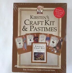 American girl kirstens craft kit and pastimes new sealed for American girl craft kit