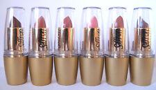 Set of 6 Saffron Lipsticks in Nude Shades.