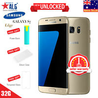 Samsung  Galaxy S7 edge SM-G935 - 32GB - Gold Platinum Smartphone Mobile Phones