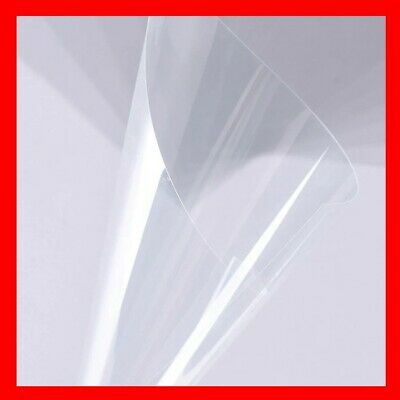 doll house windows etc for face mask Visors crafting 0.5mm Clear PETG sheet