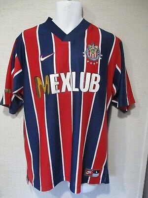 adiós batalla Imitación  chivas nike jersey 100% authentic 1997 LARGE super super rare!!!!!! | eBay