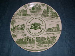 VINTAGE 1820-1970 ROTTERDAM SESQUI-CENTENNIAL PLATE