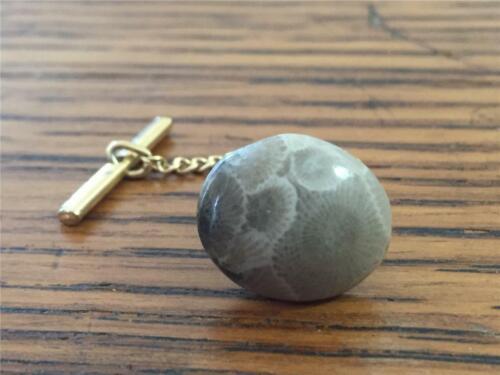 Petoskey Stone Tie Clip
