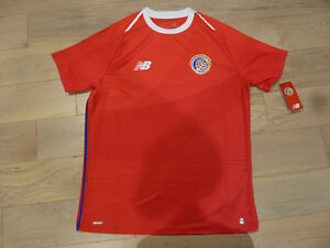 NWT New Balance 2018 World Cup Costa Rica Red Home Jersey (Men ... ee12dd232