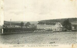 51-ABBAYE-D-039-IGNYVUE-GENERALE-MONASTERE-ET-CHOCOLATERIE-ENDOMMAGEE