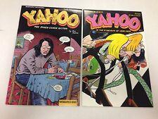 Yahoo #1 #2 by Joe Sacco Fantagraphics The Jaded Comix Bistro