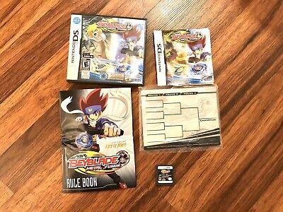 Beyblade Metal Fusion Video Game Konami Nintendo DS ...