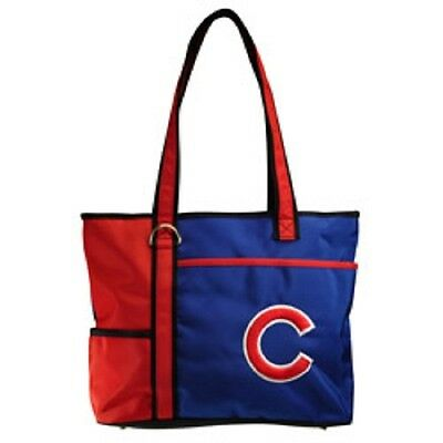 Sport Das Beste Neu Mlb Carryall Einkaufstasche Geldbörse Lizenziert Chicago Cubs Geschenk Farben Sind AuffäLlig