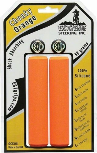 ESI 32mm Bike Chunky Silicone Bicycle Grips Orange