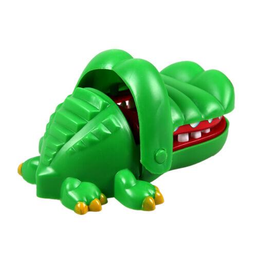 Grande coccodrillo Bocca dentista morso dito gioco divertente giocattolo JP /_