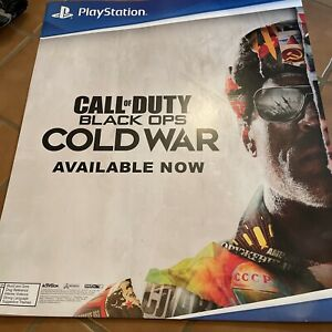 Call Of Duty Black Ops Cold War Promo Ps5 POSTER 24x28