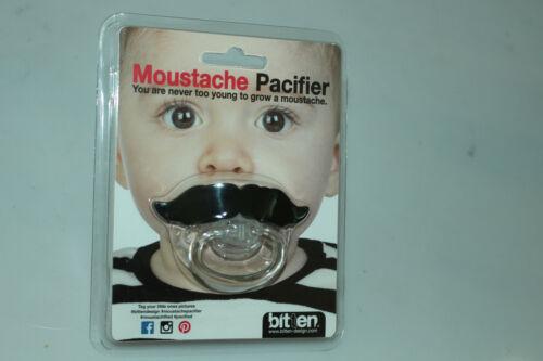 Moustache Tétine demander Design 1158 Moustache Pacifier silicones BPA Libre