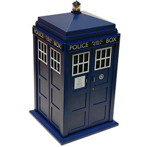 Wesco DR Who Tardis Lights & Sounds Cookie Jar