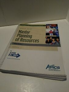 APICS-CPIM-Master-Planning-of-Resources-Study-Notes-2010-034-Good-034-Free-Ship