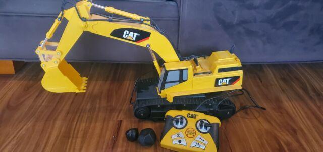 Cat Caterpillar Remote Control Excavator Massive Machine Construction Feed For Sale Online Ebay