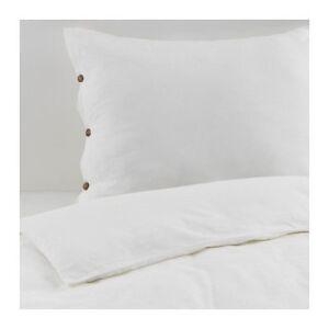 Ikea Vägtistel 140x200cm Bettwäsche Leinen Baumwolle Bett Decke Neu