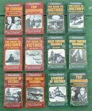 Winning of World War II The Road To Victory & more. 25 VHS Tapes. used very good