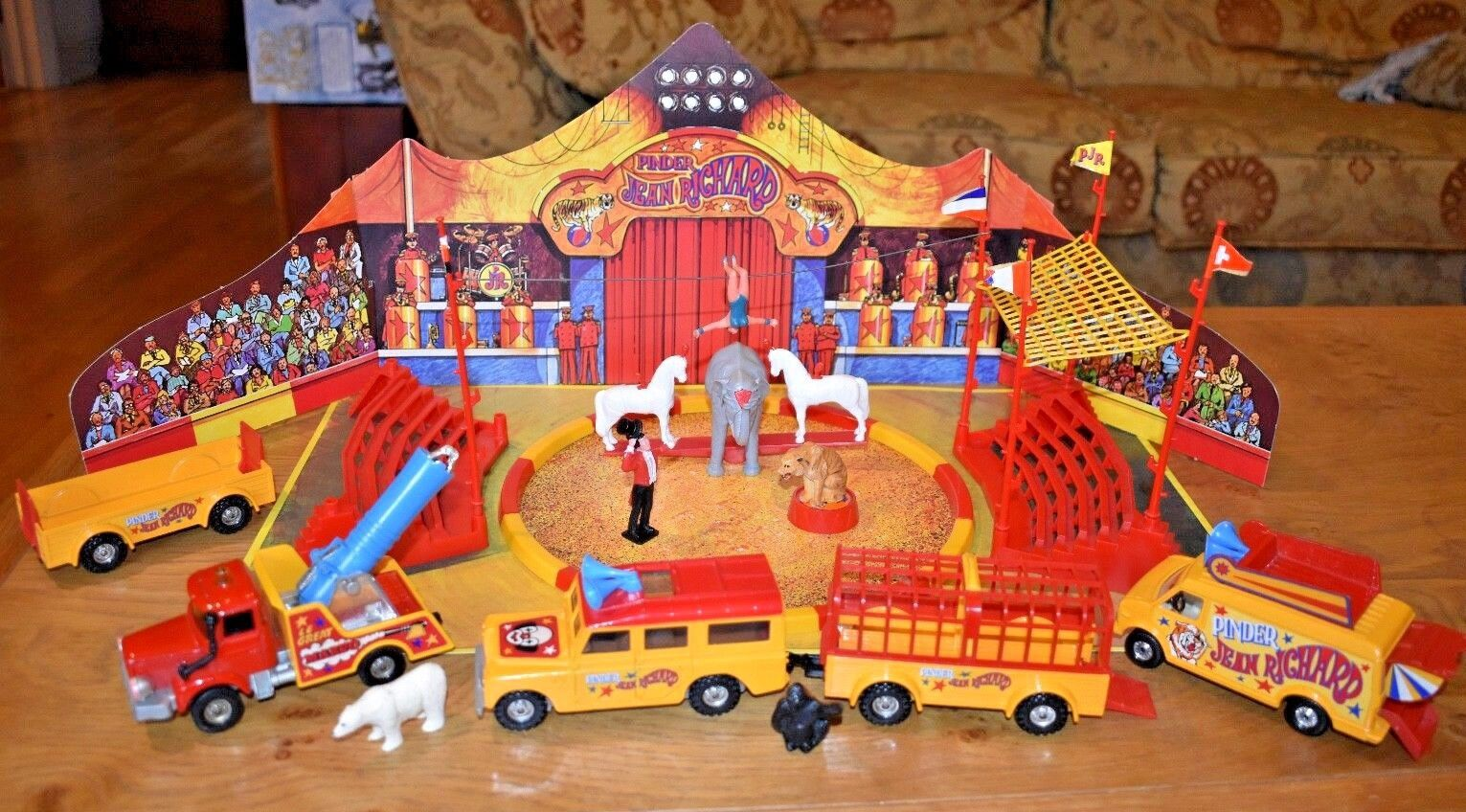 Vintage Corgi Jean Richard Circus No 48; 1978