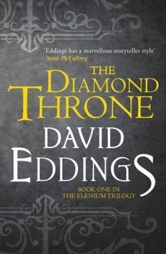 1 of 1 - The Diamond Throne (Book 1 Elenium Trilogy) by David Eddings - Medium Paperback