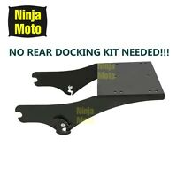 King Tour Pack Pak Latches Razor Chop Trunk Mount For Harley Touring Fl 97-08