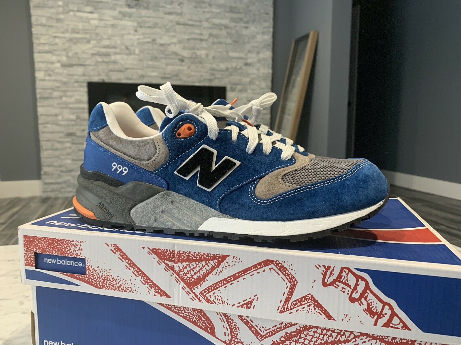 Dead Stock nouveau   M999CP1 Orange bleu 11 Concepts