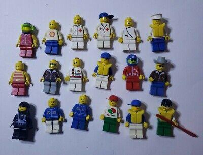 MINIFIGS LEGO TOWN CITY  FIGURINES AU CHOIX   LOT SERIE 7