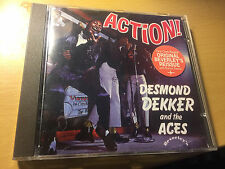 "Desmond Dekker and the Aces ""Action!"" IMPORT cd with BONUS tracks"