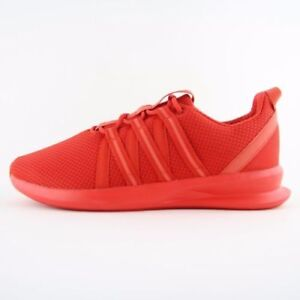 quality design 69340 b77f1 Image is loading ADIDAS-LOOP-RACER-RUNNING-TRAINERS-TRIPLE-RED-B42444-