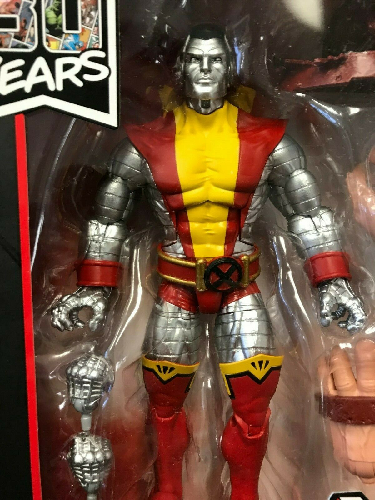 Marvel Legends 6  Comics 80 Years Colossus Classic '80s X-Men Piotr Rasputin New