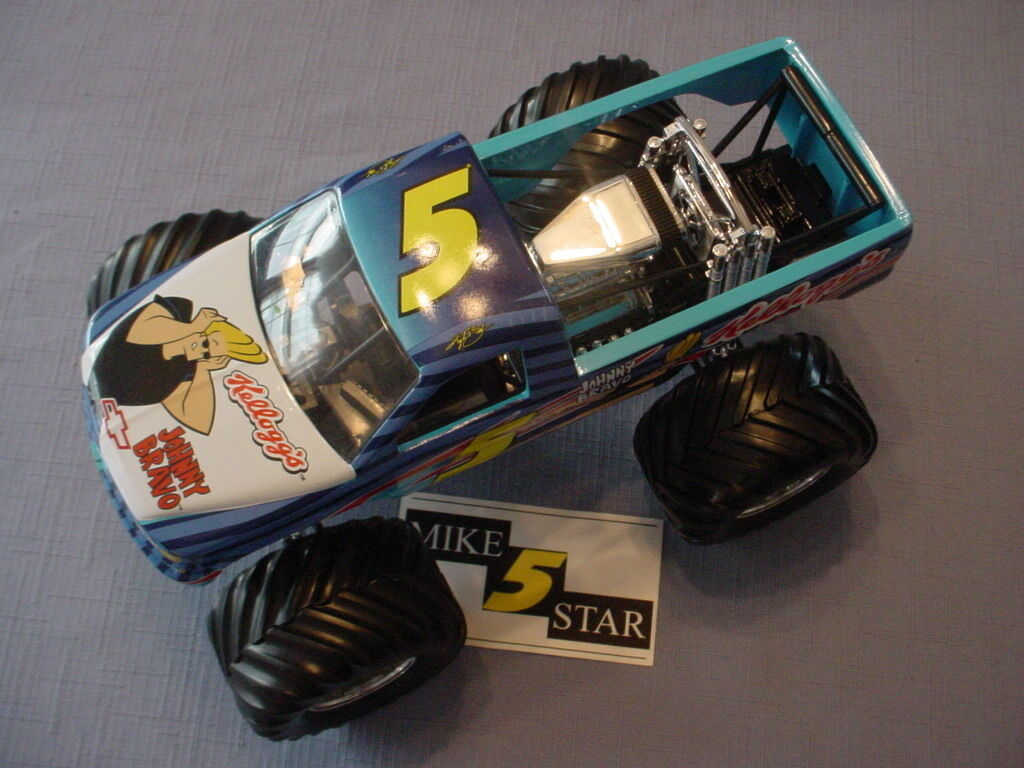 2005 1 24 Kyle Busch  5 KELLOGG'S Johnny Bravo 4X4 Camion Muscle prougeotype 1 1