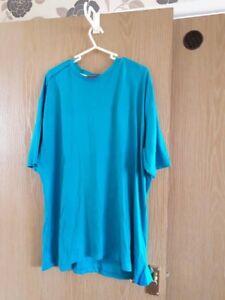 mens-turquise-blue-slazenger-t-shirt