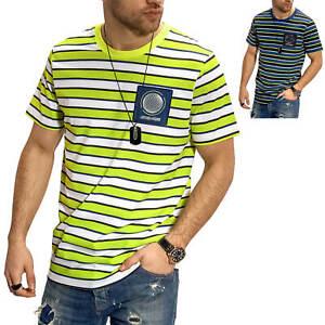 Jack-amp-Jones-T-Shirt-Hommes-Print-Shirt-manches-courtes-Shirt-Casual-Loisirs-streetwear