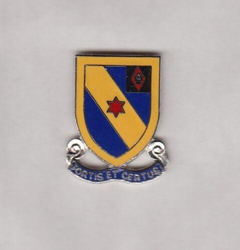 USA 52nd INFANTRY REGIMENT crest DUI badge CB Clutchback HM