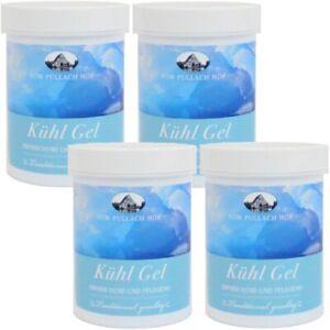 4x Kühl-gel 150 Ml Reines Und Mildes Aroma 19,98€/l Sparsam Angenehm Kühlend Nach Sportlicher Anstrengung