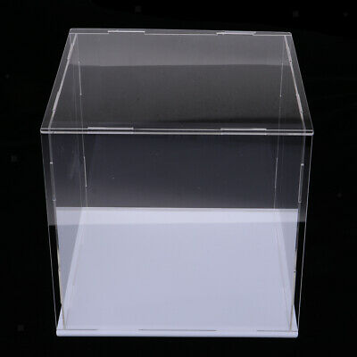 Clear Display Case Model Show Case Box Display for Action Figure Model Toys