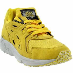 yellow asics