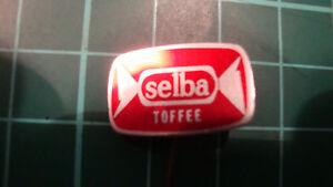 Selba-toffee-badge-60s-60-039-s-original-lapel