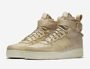 Details zu UK 9 Nike SF AF1 Air Force 1 Mid Mens Trainers EU 44 (917753 200) Special Field